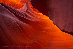 The Fire Within (Darren White Photography) Tags: arizona southwest canon sandstone textures glowing antelopecanyon pagearizona darrenwhite lowerantelopecanyon darrenwhitephotography 5dmkii visipix