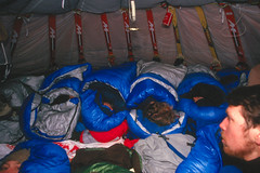 Inside Soviet Tent (Weber Arctic Expeditions) Tags: ice richard misha weber northpole frostbite arcticocean polarexpedition malakhov wardhuntisland fischerskis polarbridge polartraining capearkticheskiy dimitrishparo shparo