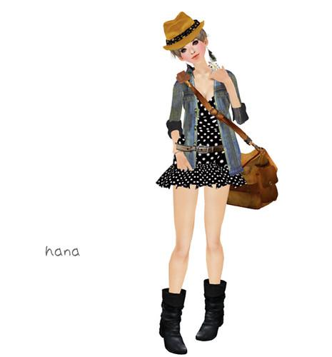 Pois Noirs - Elise (Magic Fashion)