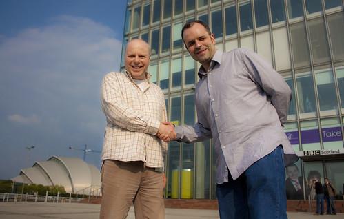 Ken Lindsay and Gavin Pearson
