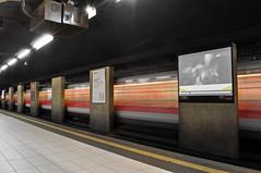 Waiting for Metro (valerio.zani) Tags: milan bus nikon metro milano d5000