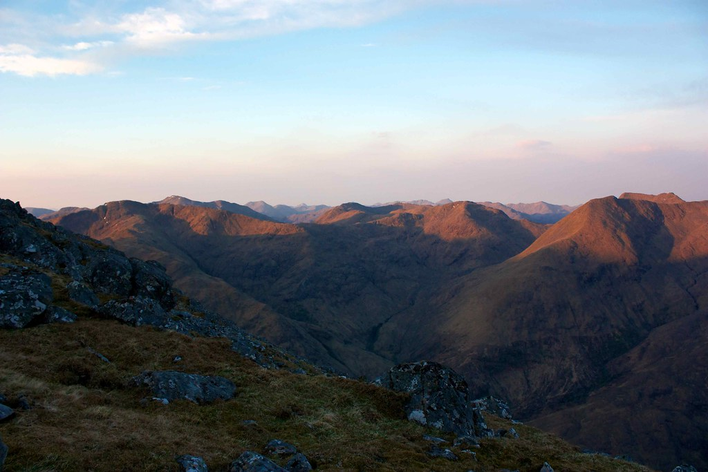First light on the South Shiel Ridge