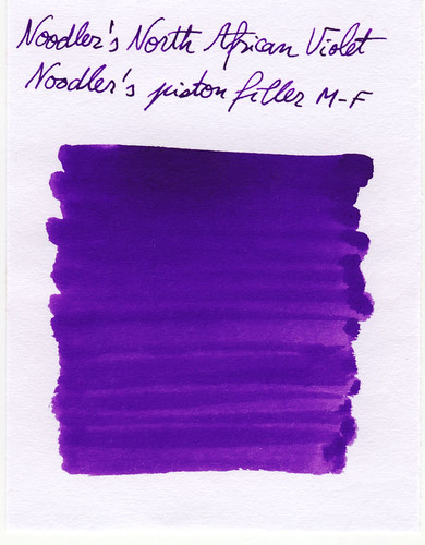 Noodlers North African Violet