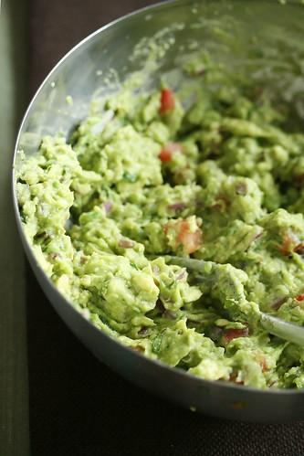 Grilled Avocado Guacamole