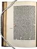 Manuscript correction in Jacobus de Theramo: Consolatio peccatorum, seu Processus Belial