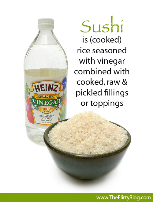 vinegar-what-is-sushi-rice