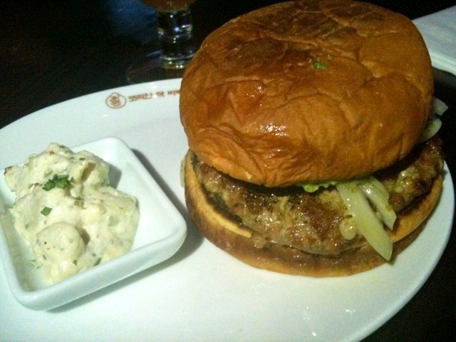 Glutster burger by Caroline on Crack