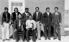 Zuni officials, 1937 (Marquette University Archives) Tags: new portraits mexico native indian pueblo american zuni