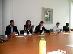 Dix résidents de la Cité internationale chez KPMG