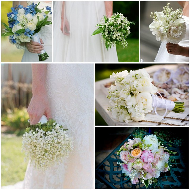 Lily of the Valley bridal bouquets