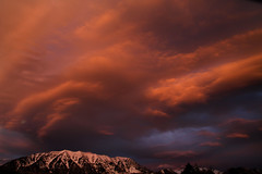 Sunset (arbyreed) Tags: sunset mountain clouds utah redsunset mountainsunset redclouds fierysky orangeclouds fierysunset arbyreed cascademountainsunset