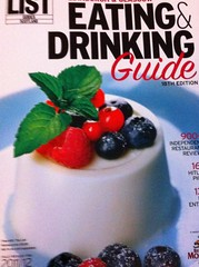 The List Eating and Drinking Guide 2010-2011