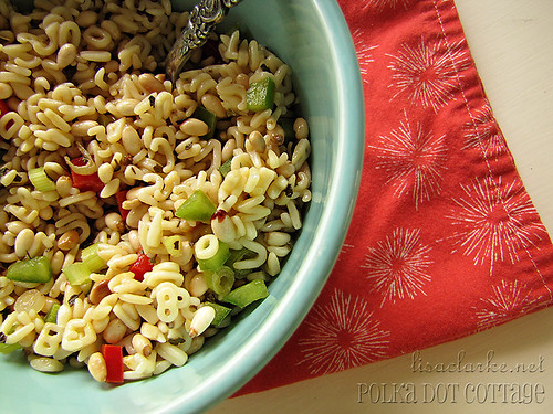 365 day 123 - Pine Nut Salad for lunch
