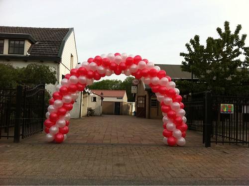 Ballonboog 6m Camping de Zoom Bergen op Zoom