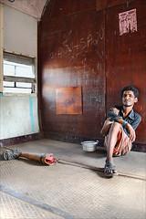 Long way to go (Apratim Saha) Tags: portrait india man color train canon handicraft eos indian rail 7d disabled protrait dailylife nationalgeographic westbengal northindia indianrail apratim lifeinindia lifeculture apratimsaha