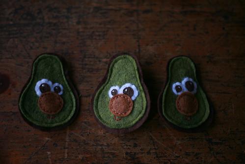 avocado pins!!