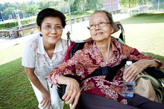 Siew Lian and Auntie Chee