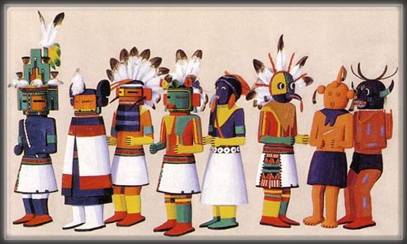 Hopi,Kachina,Dolls