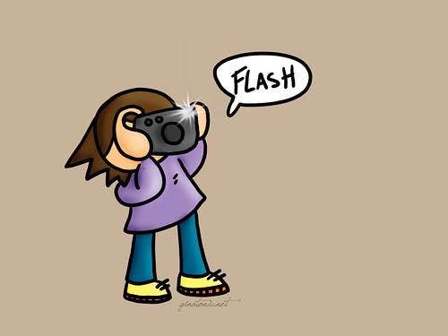 flash foto