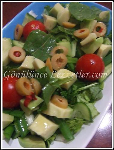 kuzu kulağı salatası 2