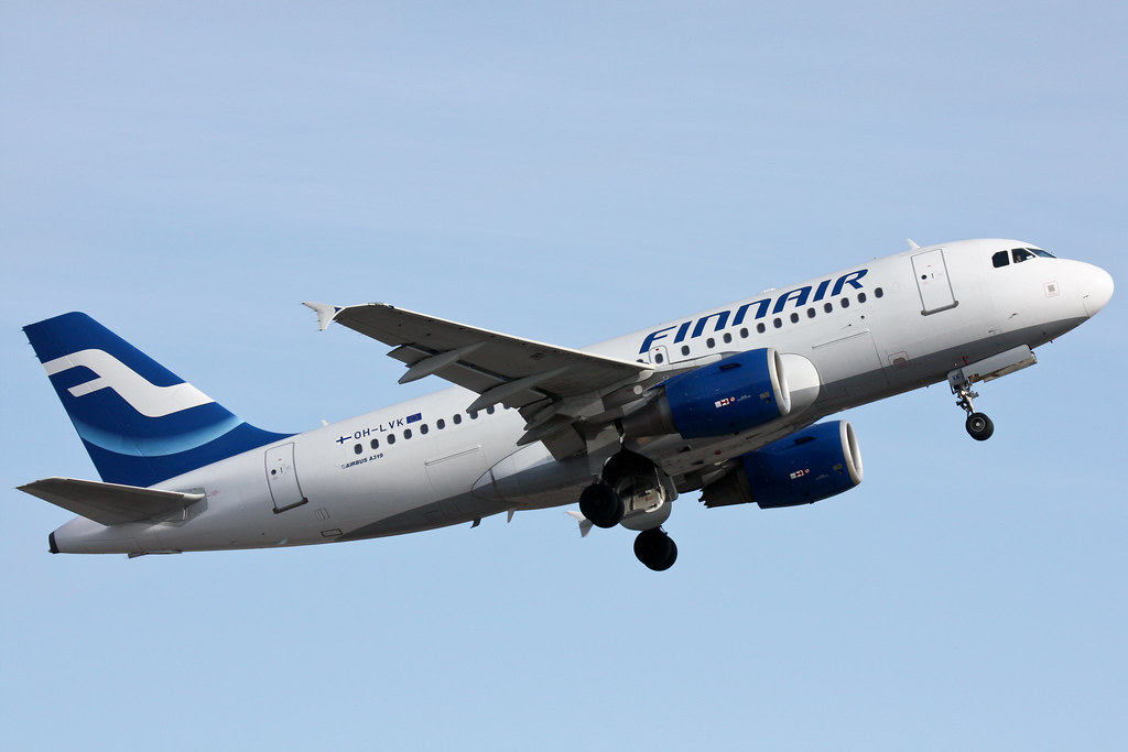 Finnair - OH-LVK - Airbus A319-112