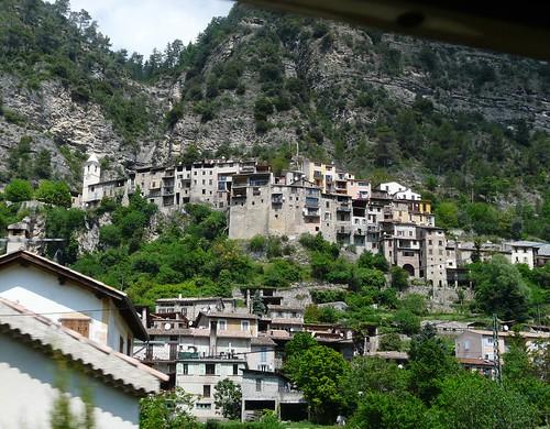 Le joli village de Touët-sur-Var