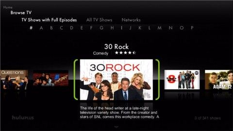 TiVo Hulu Plus