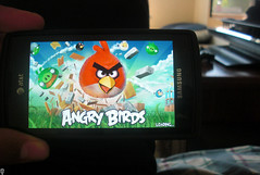 Angry Birds! (powdream) Tags: game birds fun video ipod 4 touch samsung galaxy angry app entertaining iphone ps3 ipad