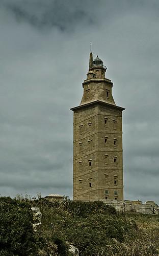 Torre de Hercules by Ricardo Cantero