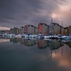 Marina LAB (Scott Howse) Tags: uk longexposure england sky cloud water marina bristol boats portishead flats lee leisure filters graduated nd110 09h