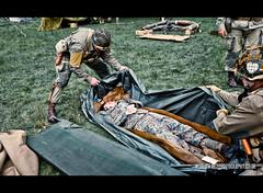 RB-9681 (Robert Bridgens) Tags: park home m1 scenario brave medic ksk hotb 2011 50cal k98 30cal margham garrand stahlkrieger