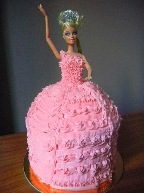 Recpy Barbie Doll Cake Umami Mart