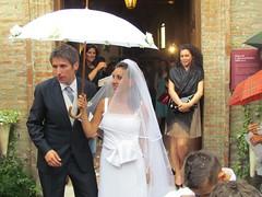 Matteo and Giorgia's wedding - Gradara, 11 giugno 2011 (cepatri55) Tags: wedding giorgia matteo pioggia matrimonio ombrello 2011 cepatri cepatri55