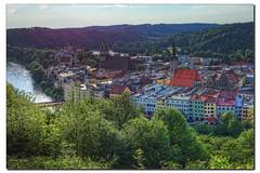 Abends in Wasserburg (Helmut Reichelt) Tags: leica germany bayern deutschland inn oberbayern stadt fluss hdr wasserburg m9