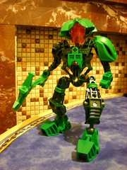 Lein (Sparkytron) Tags: lego jungle universe bionicle agori lein