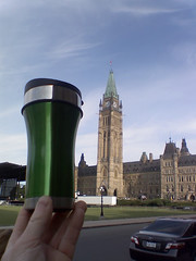 The 12oz. Tumbler visits the Candian Parliament