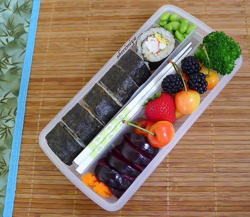 Summer Sushi Bento by sherimiya ♥
