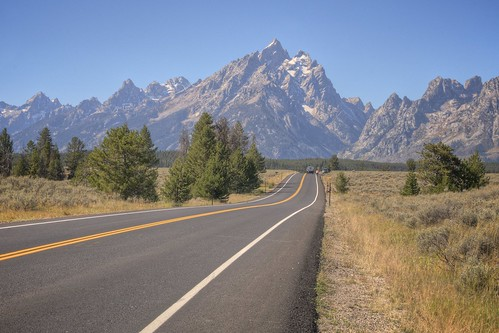 Road to Grand Teton