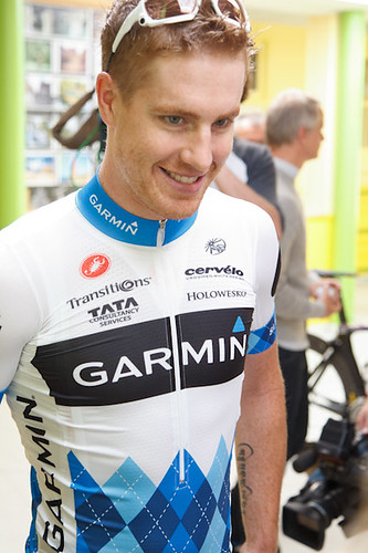 Tyler Farrar - Tour de France, press conference by Team Garmin-Cervélo