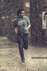 People (GZZT) Tags: people man berlin rain germany de run mann mb rennen regen guessedberlin gzzt martinbriese gwbdrggkkrueger