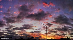 Panoramic clouds (Fally Killradio) Tags: sky nature argentina clouds landscape atardecer amazing buenosaires panoramic cielo panoramica nubes lovely cloudscape lateafternoon