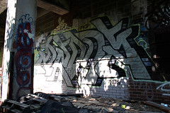 Dems Graffiti (Snake Oil Magazine) Tags: streetart graffiti michigan detroit vandalism spraypaint snakeoil gargantuen