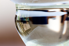 131/365 Through the looking glass (Nigel Andrews) Tags: abstract macro water canon project 365 wineglass project365 canoneos70d