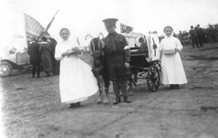 Children with a goat cart 'ambulance' (State Library of South Australia) Tags: worldwari ww1 slsa statelibraryofsouthaustralia