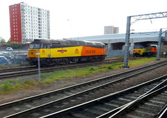 Doncaster (DarloRich2009) Tags: yorkshire doncaster southyorkshire eastcoastmainline colas ecml class47 doncasterstation 70801 class70 doncasterrailwaystation colasrail 47739 robinoftemplecombe colasrailfreight