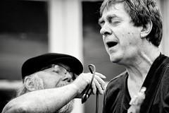 Duo of bluesman's (Napafloma-Photographe) Tags: blackandwhite bw france noiretblanc duo jazz blues bandw fr bluesman arras chanteur 2014 chanteurs festivaldejazz bluesmans hoteldeguines gutariste
