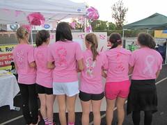 Pink Ribbon tshirts (sewfunbymonique) Tags: pink breast cancer tshirt ribbon sisboom jenniferpaganelli sewfunbymonique