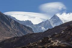 Nuptse and Lhotse (D A Scott) Tags: everest base camp tokyo lakes trek himalayas nepal asia mountains