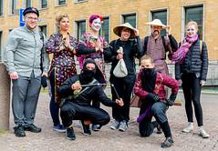 Timo, Marta, Iisa, Martino, Tuli, Anni, Pyry & Emma (Poupetta) Tags: strangers students rally helsinki freshmen