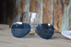 Through the Blue Glass (Hrishi the experimentor) Tags: random experiments sunglasses travel diaries